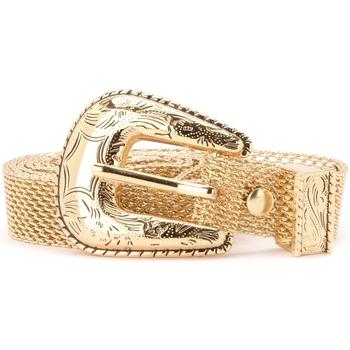 Accessori Donna Cinture B-Low The Belt Cintura  modello Baby Frank Mesh oro Oro