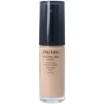 Bellezza Donna Fondotinta & primer Shiseido Synchro Skin Glow Luminizing Fluid Foundation r3 30 ml