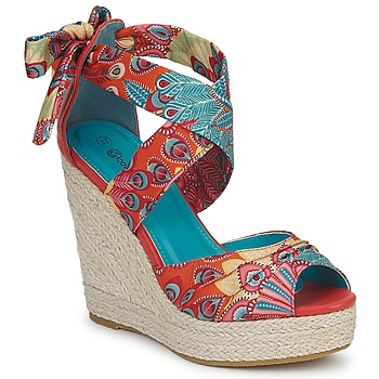 Scarpe Donna Sandali Moony Mood FIRNIL Multicolore