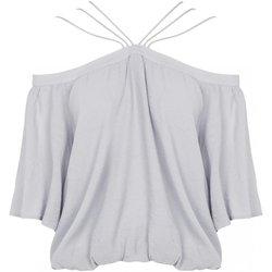 Abbigliamento Donna Top / Blusa See U Soon Top 20111182 grigio