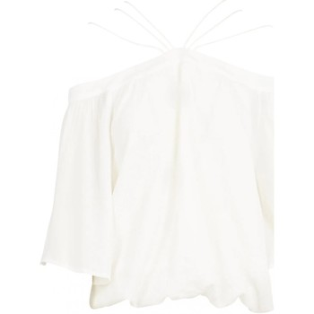 Abbigliamento Donna Top / Blusa See U Soon Top 20111182 - Donna bianco