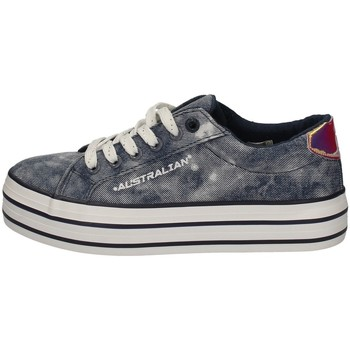 Scarpe Donna Sneakers basse Australian AU855 BLU