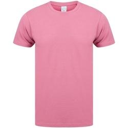Abbigliamento Uomo T-shirt maniche corte Skinni Fit SF121 Rosa polvere