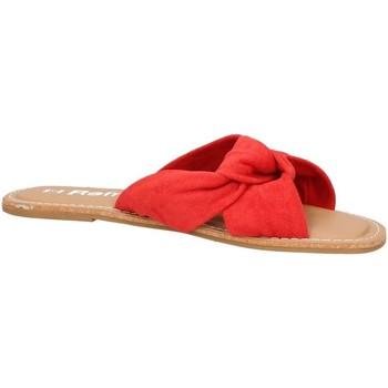 Scarpe Donna Ciabatte Refresh 69687 Rosso