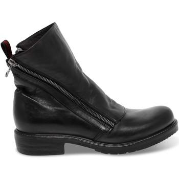 Scarpe Donna Stivaletti Jp David Polacco  in pelle grigio e nero grigio,nero