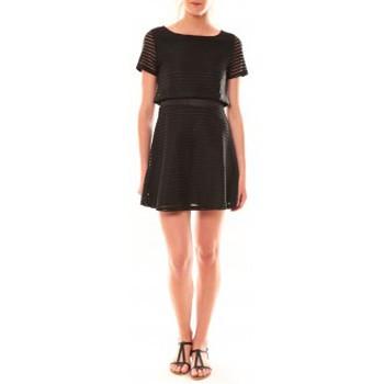 Abbigliamento Donna Abiti corti La Vitrine De La Mode Robe LC-0461 By La Vitrine Noire Nero