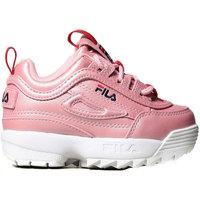 Scarpe Bambino Sneakers basse Fila DISRUPTOR F INFANT 1011077 73L Rosa
