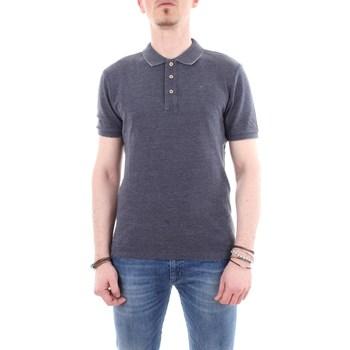 Abbigliamento Uomo Polo maniche corte Blauer 19sblut02103-005279 Grigio