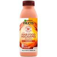 Bellezza Donna Shampoo Garnier Fructis Hair Food Macadamia Champú Alisador  350 ml