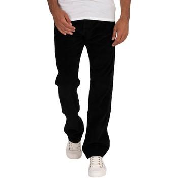 Abbigliamento Uomo Jeans dritti Lois Nuovi jeans Dallas Jumbo Cord nero