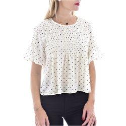 Abbigliamento Donna T-shirt maniche corte See U Soon Top 20119097B - Donna bianco