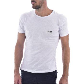 Abbigliamento Uomo T-shirt maniche corte Goldenim Paris maniche corte 2023 - Uomo bianco