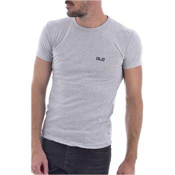 Abbigliamento Uomo T-shirt maniche corte Goldenim Paris maniche corte 2023 grigio