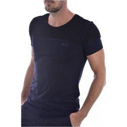 Abbigliamento Uomo T-shirt maniche corte Goldenim Paris maniche corte 1453-2 - Uomo blu