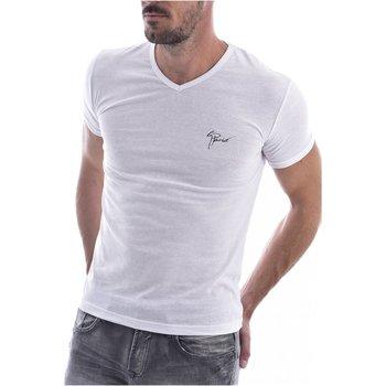 Abbigliamento Uomo T-shirt maniche corte Goldenim Paris maniche corte 2024 - Uomo bianco