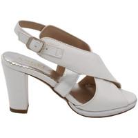 Scarpe Donna Sandali Angela Calzature ANSANGC941bianco bianco