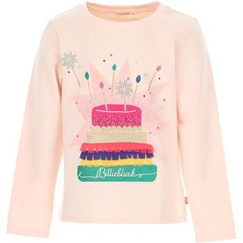 Abbigliamento Bambina T-shirts a maniche lunghe Billieblush / Billybandit U15796 ROSA CHIARO