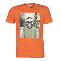 Abbigliamento Uomo T-shirt maniche corte Jack & Jones JORSKULLING Arancio