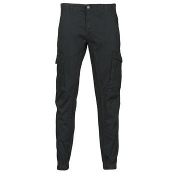 Abbigliamento Uomo Pantalone Cargo Jack & Jones JJIPAUL Nero