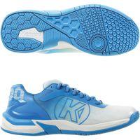 Scarpe Donna Multisport Kempa Chaussures femme  Attack 2.0 blanc/bleu