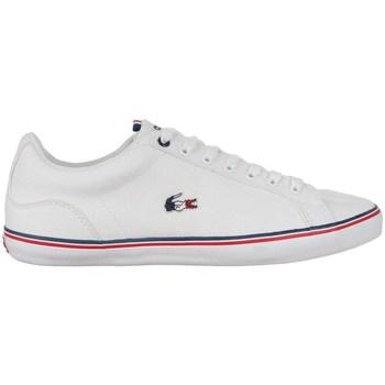 Scarpe Uomo Sneakers basse Lacoste Lerond Bianco, Rosso