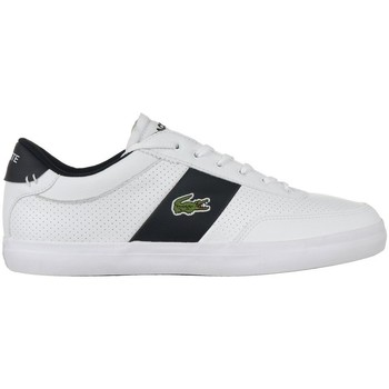 Scarpe Uomo Sneakers basse Lacoste Courtmaster Bianco, Nero