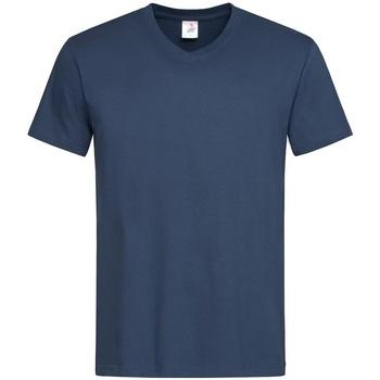 Abbigliamento Uomo T-shirt maniche corte Stedman  Blu navy