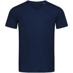 Abbigliamento Uomo T-shirt maniche corte Stedman Stars  Blu scuro