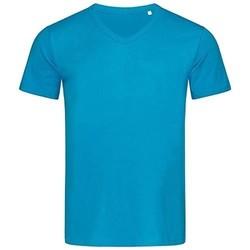 Abbigliamento Uomo T-shirt maniche corte Stedman Stars  Azzurro intenso