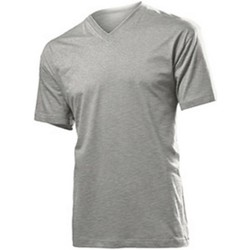 Abbigliamento Uomo T-shirt maniche corte Stedman  Grigio screziato