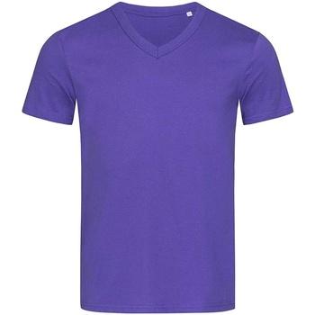 Abbigliamento Uomo T-shirt maniche corte Stedman Stars  Viola