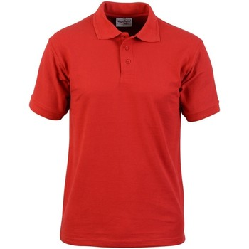 Abbigliamento Uomo Polo maniche corte Absolute Apparel  Rosso