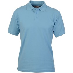 Abbigliamento Uomo Polo maniche corte Absolute Apparel  Azzurro