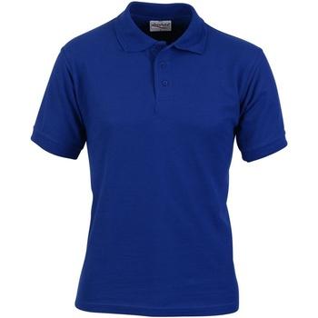 Abbigliamento Uomo Polo maniche corte Absolute Apparel  Blu reale
