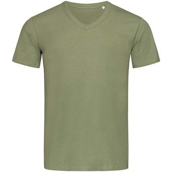 Abbigliamento Uomo T-shirt maniche corte Stedman Stars  Verde militare