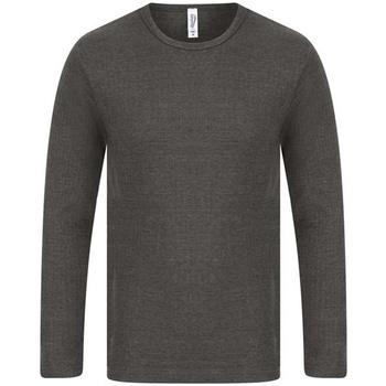 Abbigliamento Uomo T-shirts a maniche lunghe Absolute Apparel  Carbone