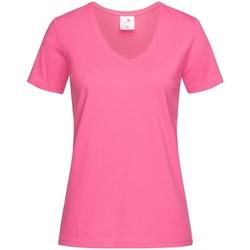 Abbigliamento Donna T-shirt maniche corte Stedman  Rosa