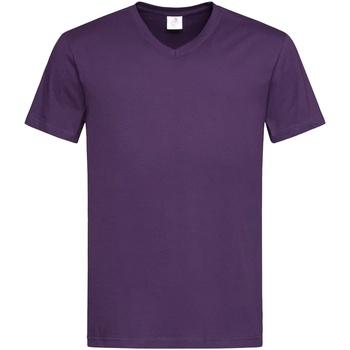 Abbigliamento Uomo T-shirt maniche corte Stedman  Viola scuro
