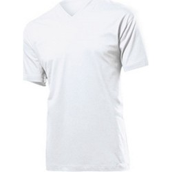 Abbigliamento Uomo T-shirt maniche corte Stedman  Bianco
