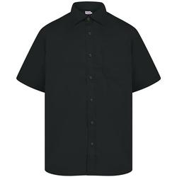 Abbigliamento Uomo Camicie maniche corte Absolute Apparel  Nero
