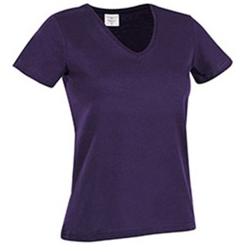Abbigliamento Donna T-shirt maniche corte Stedman  Viola