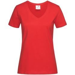 Abbigliamento Donna T-shirt maniche corte Stedman  Rosso