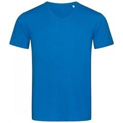 Abbigliamento Uomo T-shirt maniche corte Stedman Stars  Blu reale