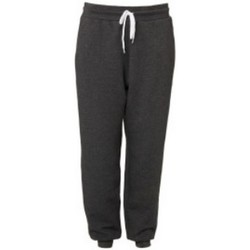Abbigliamento Pantaloni da tuta Bella + Canvas CA3727 Grigio scuro screziato