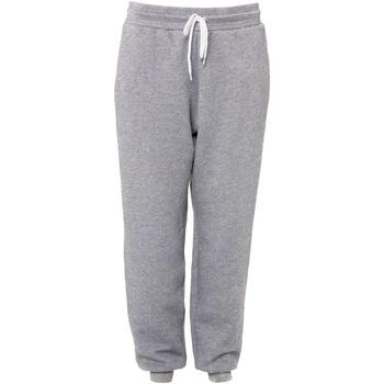 Abbigliamento Pantaloni da tuta Bella + Canvas CA3727 Grigio screziato