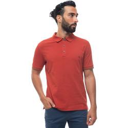 Abbigliamento Uomo Polo maniche corte Fay NPMB240134S-ITOR801 Arancio
