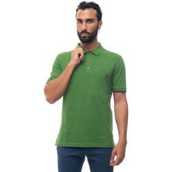 Abbigliamento Uomo Polo maniche corte Fay NPMB240134S-ITOV401 Verde