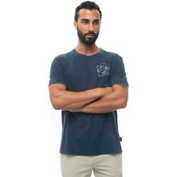 Abbigliamento Uomo T-shirt maniche corte Fay NPMB340136T-ROZU809 Blu