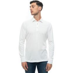 Abbigliamento Uomo Polo maniche lunghe Kiton POSITANO-K06S371 Bianco