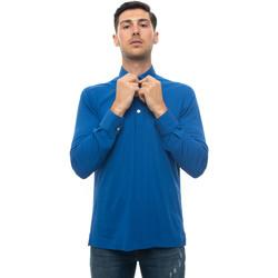 Abbigliamento Uomo Polo maniche lunghe Kiton POSITANO-K06S373 Azzurro